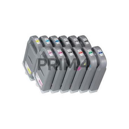 PFI-1700BL 0784C001 700ml Blu Cartuccia Inchiostro a pigmenti Compatibile per Plotter Canon IPF PRO 2000, 4000, 6000