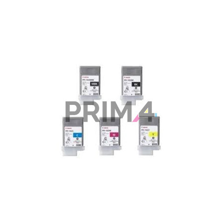 PFI-102MBK 130ml Pigment Cartuccia Plotter Compatibile Canon IPF500,IPF600,IPF700,LP17