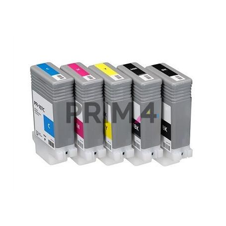 PFI-107Y 130ml Giallo Cartuccia Inchiostro Compatibile per Plotter Canon IPF680, 685, 780, 785, 770, 670