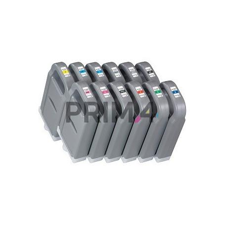 PFI-706MBK 6680B001 700ml Nero Opaco Cartuccia Inchiostro Compatibile per Plotter Canon iPF8300, iPF8400, iPF9400