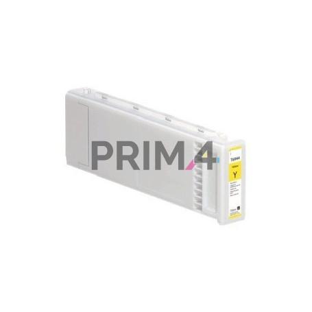 T6944Y 700ml Giallo Cartuccia a pigmenti Compatibile per Plotter Epson SC-T3000, T7000, T5000, T3200