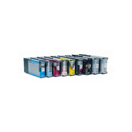 T5444Y C13T544400 220ml Giallo Cartuccia Compatibile per Plotter Epson Pro4000, 7600, 9600
