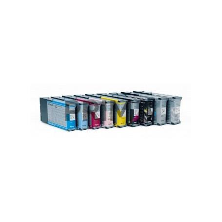 T5447LK C13T544700 220ml Nero Chiaro Cartuccia Compatibile per Plotter Epson Pro4000, 7600, 9600