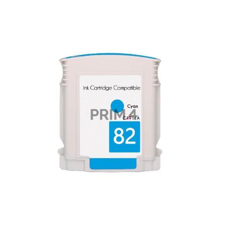 C4911A 82 69ml Ciano Cartuccia Inchiostro Compatibile per Plotter HP DesignJet 500Plus, CC 800PS, 815MFP
