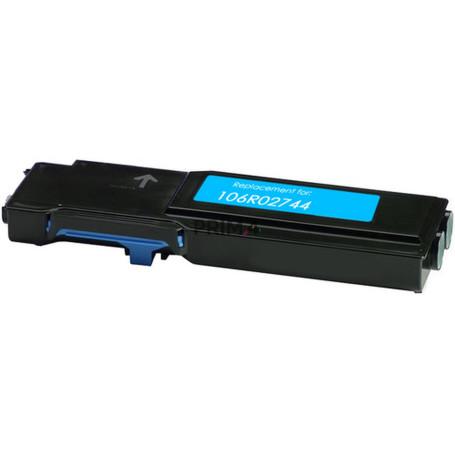 106R02744 Ciano Toner Compatibile con Stampanti Xerox WorkCentre 6655 -7.5k Pagine