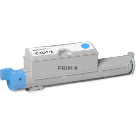 106R01218 Cyan Toner Compatible with Printers Xerox 6360, 6360N, 6360DA, 6360DB, 6360DN -12k Pages