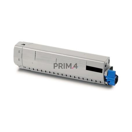 44315308 Nero Toner Compatibile con Stampanti Oki C610 N, C610 DN, C610 DTN -8k Pagine