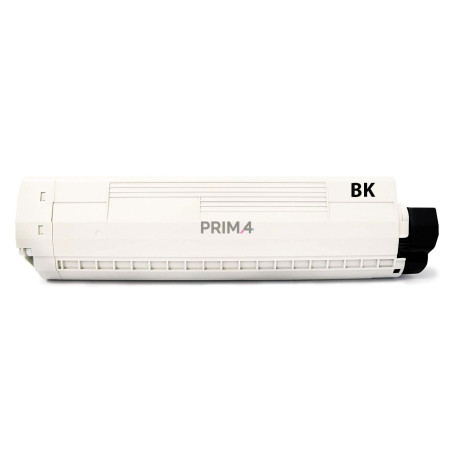 43487712 XXL Black Toner Compatible with Printers Oki 8600, 8800DN series -6k Pages