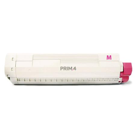 43487710 XXL Magenta Toner Compatibile con Stampanti Oki 8600, 8800DN series -6k Pagine