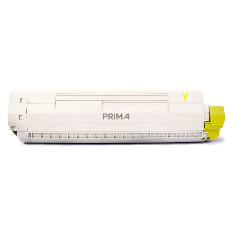 43487709 XXL Yellow Toner Compatible with Printers Oki 8600, 8800DN series -6k Pages
