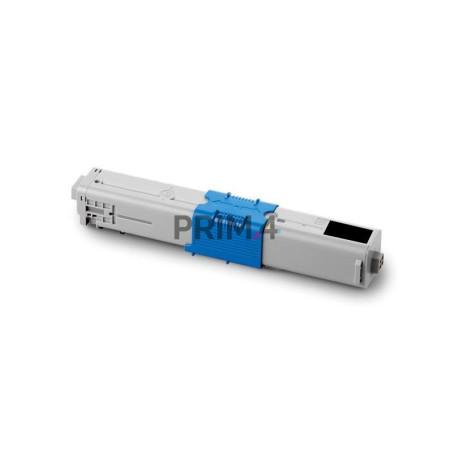 44643004 Nero Toner Compatibile con Stampanti Oki C801N, 801DN, C821N, 821DN, 7k Pagine