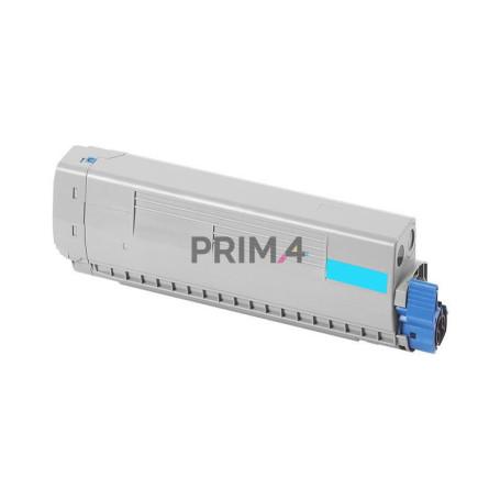 44844507 Ciano Toner Compatibile con Stampanti Oki C831N, C831DN, C841N, C841DN -8k Pagine