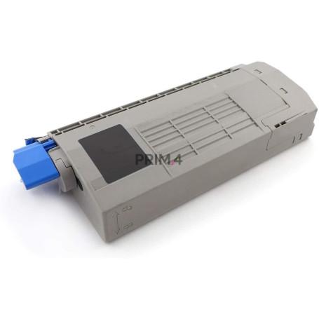 44318608 Nero Toner Compatibile con Stampanti Oki C710CDTN, C710DTN, C711DN, 711N -11Kk Pagine