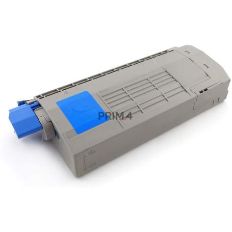 44318607 Ciano Toner Compatibile con Stampanti Oki C710CDTN, C710DTN, C711DN, 711N -11.5k Pagine