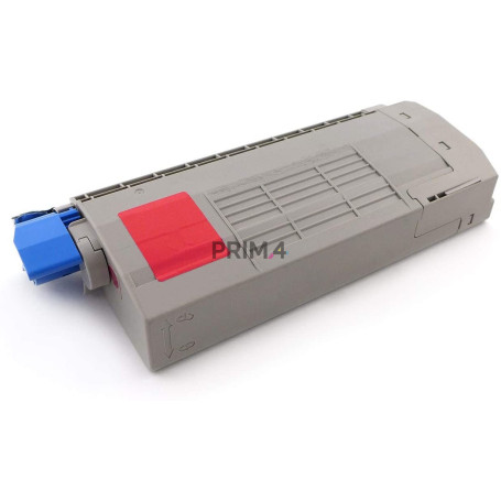 44318606 Magenta Toner Compatible with Printers Oki C710CDTN, C710DTN, C711DN, 711N -11.5k Pages