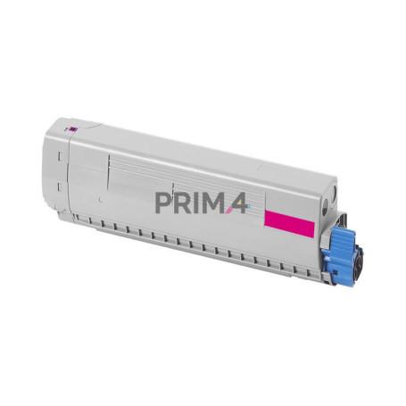 44059166 Magenta Toner Compatibile con Stampanti Oki MC851, MC851cdtn, MC861, MC86 -7.3k Pagine