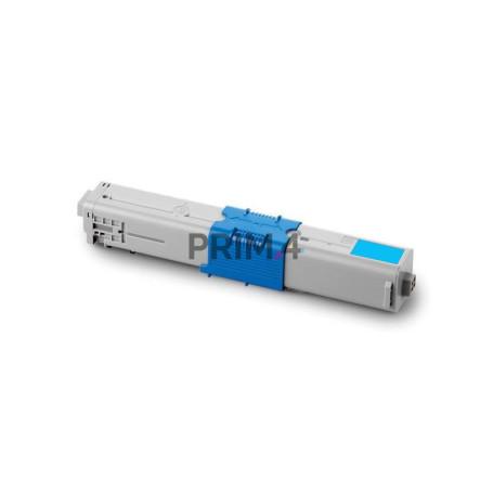 44469706 Ciano Toner Compatibile con Stampanti Oki C330DN, C310DN, C510DN, C530DN, MC562DN -2k Pagine