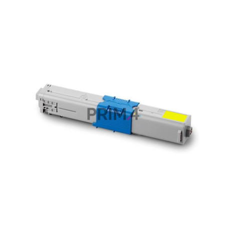 44469704 Yellow Toner Compatible with Printers Oki C330DN, C310DN, C510DN, C530DN, MC562DN -2k Pages