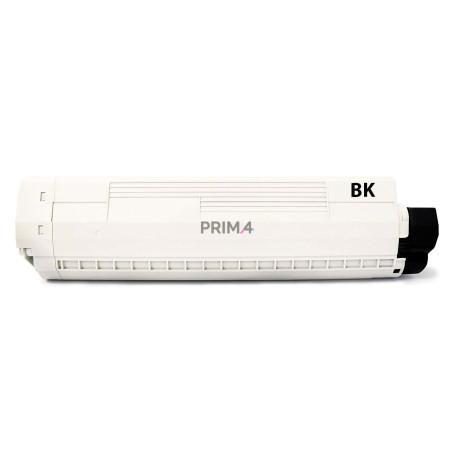 43324424 Nero Toner Compatibile con Stampanti Oki C5550 C5800 C5900 -6k Pagine