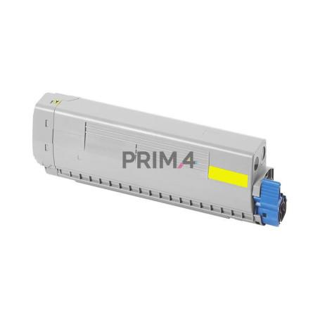 44059209 Giallo Toner Compatibile con Stampanti Oki MC860DN, MC860CDTN, MC860CDXN -10k Pagine