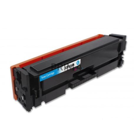 CF531A 205A Ciano Toner Compatibile con Stampanti Hp Pro MFP M180n, M181fw, M154a, M154nw -0.9k Pagine