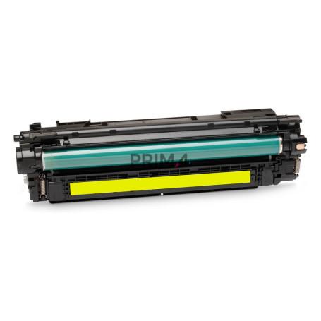 CE272A 650A Giallo Toner Compatibile con Stampanti Hp CP5500, CP5520, CP5525dn, M750DN, M750XH -15k Pagine