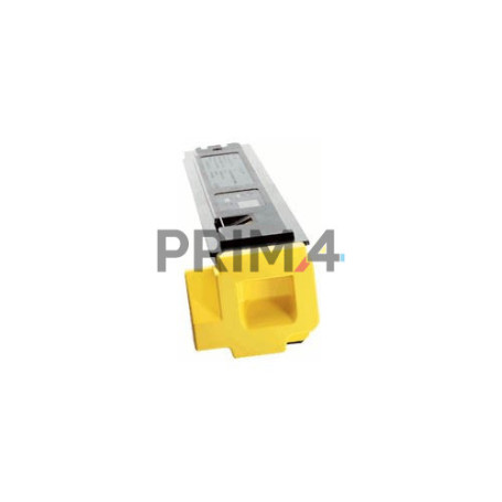 TK-810Y 370PC3KL Yellow Toner Compatible with Printers Kyocera Mita FS-C8026 -20k Pages