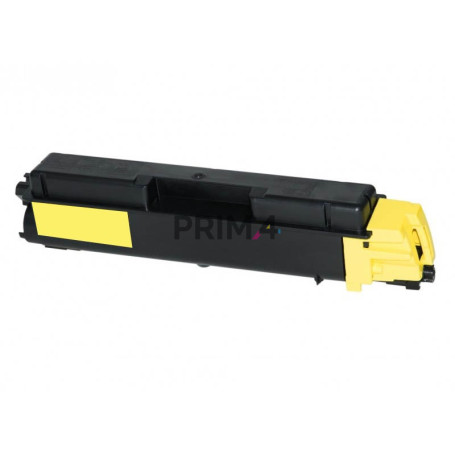 TK-5150Y 1T02NSANL0 Yellow Toner Compatible with Printers Kyocera Ecosys P6035, M6035cidn, M6535cidn -10k Pages