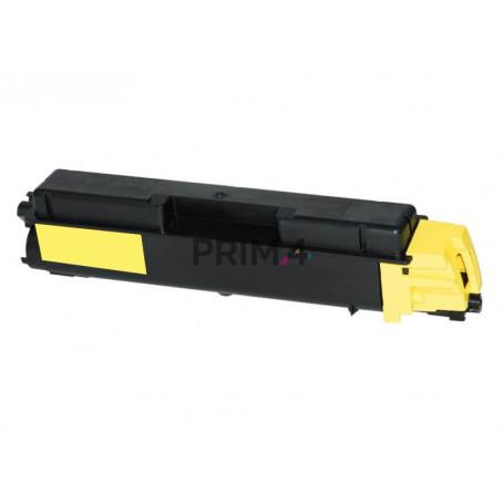 TK-5140Y 1T02NRANL0 Giallo Toner +Vaschetta Compatibile con Stampanti Kyocera M6530cdn, M6030cdn, P6130cdn -5k Pagine
