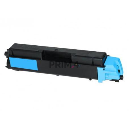 TK-580C 1T02KTCNL0 Ciano Toner +Vaschetta Compatibile con Stampanti Kyocera FS-C5150DN, P6021CDN -2.8k Pagine
