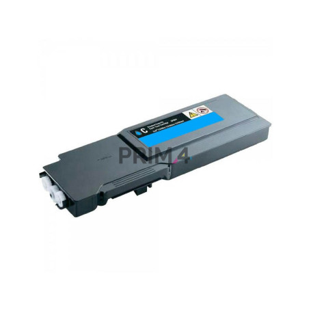 3760C 593-11122 Cyan Toner Compatible with Printers Dell C3760N, 3760DN, 3765DNF -9k Pages