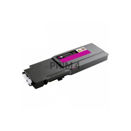 2660M 593BBBS Magenta Toner Compatible with Printers Dell C2660dn, C2665dnf -4k Pages