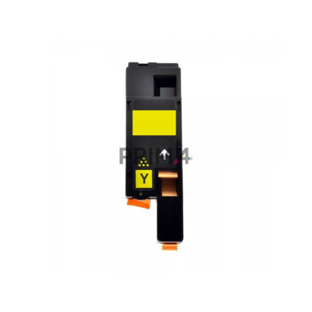 C1700Y S050611 Yellow Toner Compatible with Printers Epson CX17NF, CX17FW, C1700, C1750N, C1750W -1.4k Pages