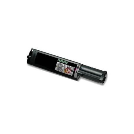 C1100BK S050190 Nero Toner Compatibile con Stampanti Epson with Chip Aculaser C1100N -4k Pagine