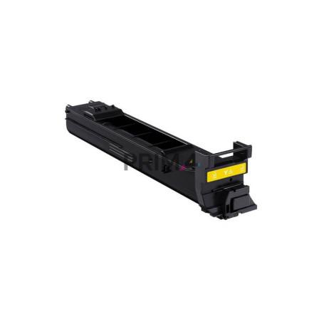 4650Y A0DK232 Giallo Toner Compatibile con Stampanti Konika Minolta 4650EN, 4650DN, 4690MF, 4695MF -8k Pagine