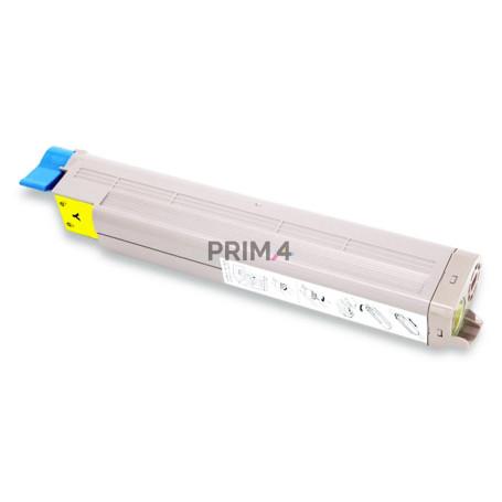 43459337 Yellow Toner Compatible with Printers Oki C3300N,3400N 3450N, C3600 -2.5k Pages
