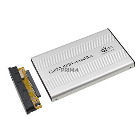 """Hard Disk Box Esterno IDE 2.5"""" USB 2.0 Classico"""